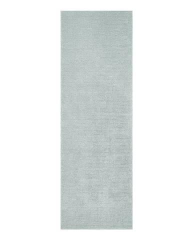 Svetlomodrý behúň Mint Rugs Supersoft, 80 x 250 cm