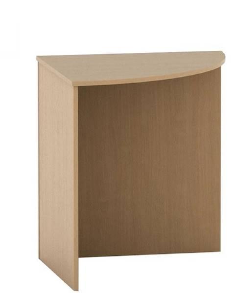 Tempo Kondela Stôl rohový oblúkový buk TEMPO ASISTENT NEW 024