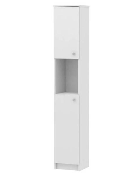 Kondela Vysoká skrinka biela GALENA SI14