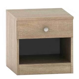 Nočný stolík so šuplíkom dub sonoma BETTY 2 BE02-010-00