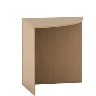 Stôl rohový oblúkový buk TEMPO ASISTENT NEW 024