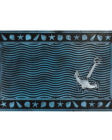BO-MA Trading Gumová rohožka Podmorský svet, 40 x 60 cm