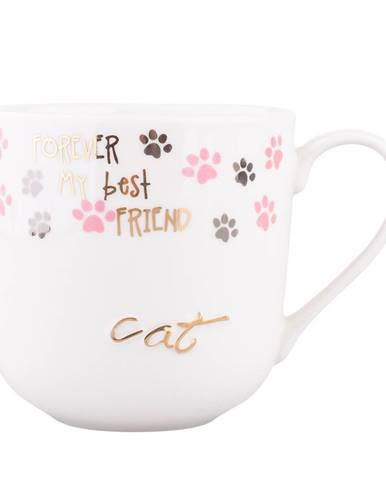 Altom Porcelánový hrnček Cat, 400 ml