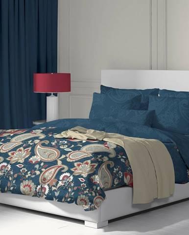 Kvalitex Bavlnené obliečky Olympia petrolejová, 140 x 200 cm, 70 x 90 cm