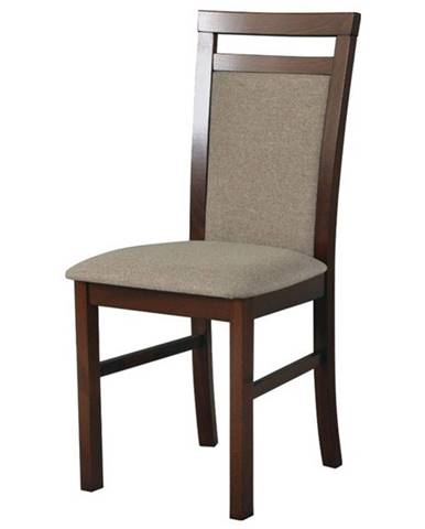 Jedálenská stolička MILAN 5 hnedá/svetlohnedá
