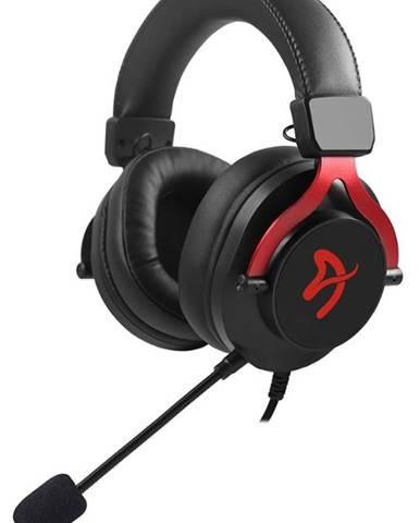 Headset  Arozzi Aria čierny/červený