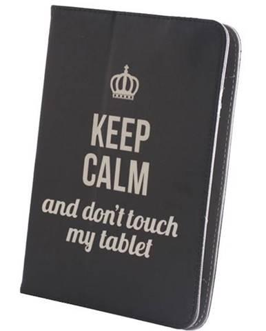 """Púzdro na tablet flipové GreenGo Keep Calm na tablet 9-10"""""""