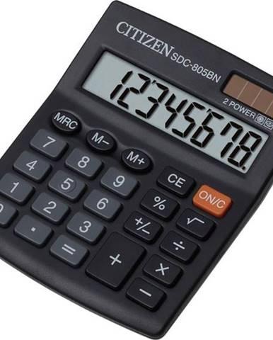 Kalkulačka Citizen SDC-805BN čierna