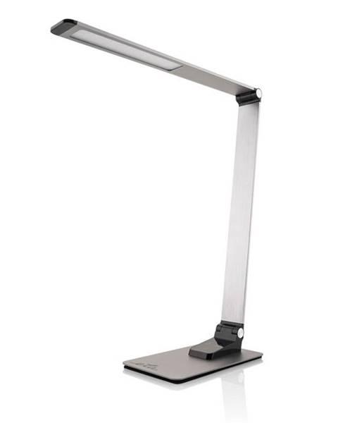 Eta Stolná lampa ETA 489290000 stmievateľná, USB port, 9W sivá