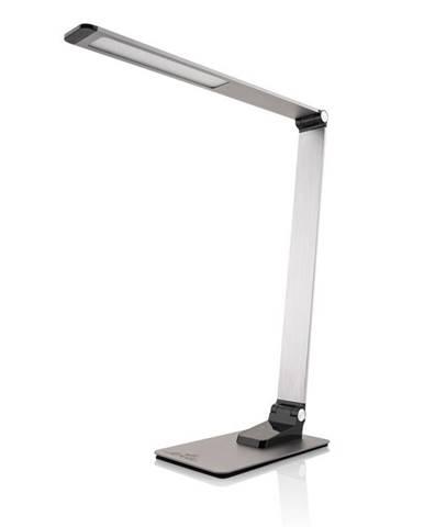 Stolná lampa ETA 489290000 stmievateľná, USB port, 9W sivá