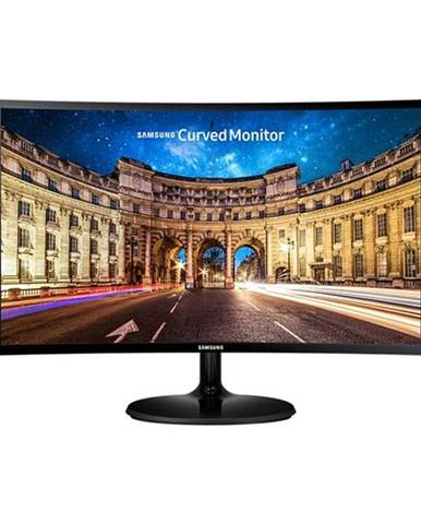 Monitor Samsung C27f390fhux/EN čierny
