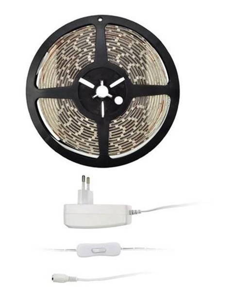 Solight LED pásik Solight 4,8 W/m, teplá bílá 3000K, adaptér s vypínačem