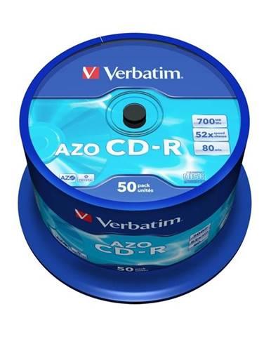 Disk Verbatim Crystal CD-R 700MB/80min, 52x, 50-cake