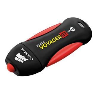 USB flash disk Corsair Voyager GT 64GB čierny/červený