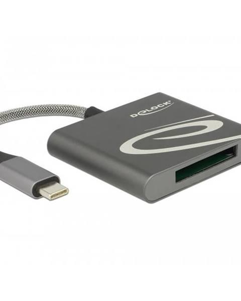 DeLock Čítačka pamäťových kariet DeLock USB-C/XQD 2.0
