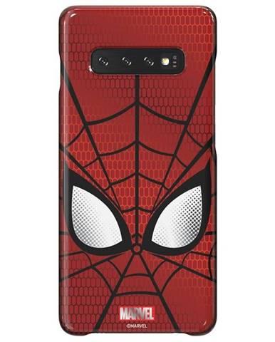 Kryt na mobil Samsung Spider-Man na Galaxy S10+ červený
