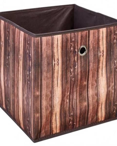 ASKO - NÁBYTOK Úložný box Wuddi 2, motív dreva%