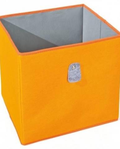 Úložný box Widdy, oranžový%