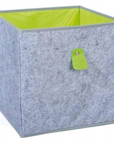 Úložný box Widdy, šedý%