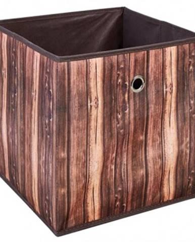Úložný box Wuddi 2, motív dreva%