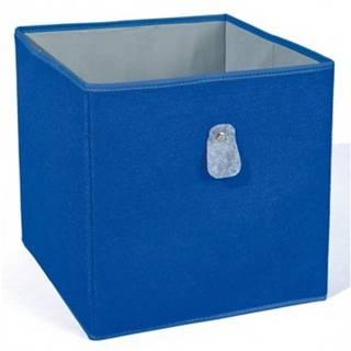 Úložný box Widdy, modrý%