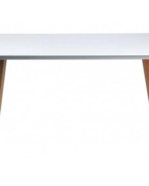 ASKO - NÁBYTOK Jedálenský stôl Larsson 150x90 cm, biely%
