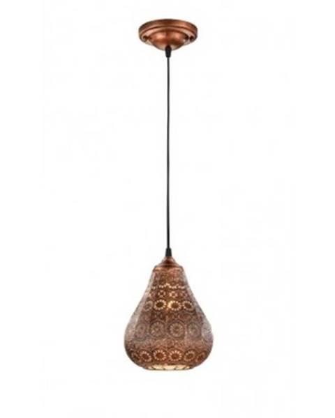 ASKO - NÁBYTOK Stropná lampa Jasmin 3037010162, medená%