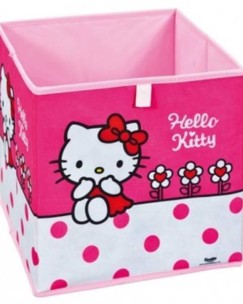 ASKO - NÁBYTOK Úložný box Hello Kitty Flower%