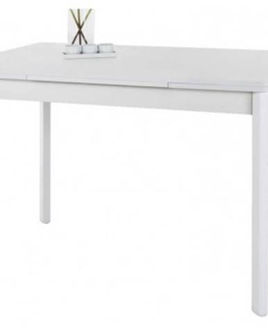 Jedálenský stôl Bremen II 90x65 cm, biely%