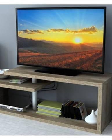 Konferenčný stolík/TV stolík/regál AS-54, dub canyon%