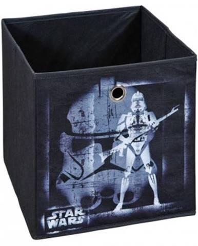 Úložný box Star Wars 2, čierny, motív bojovníka%