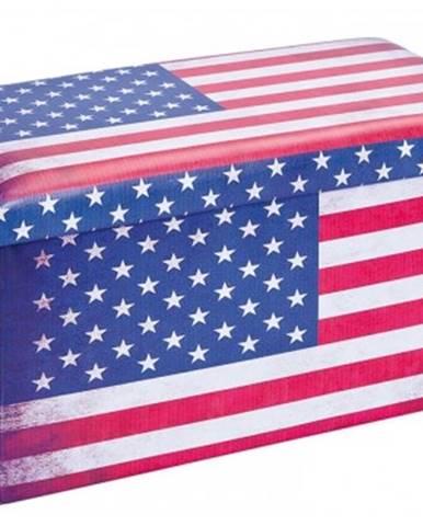 Úložný taburet Setto Stars & Stripes%