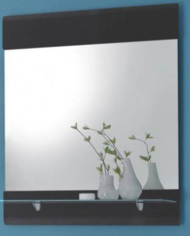 Zrkadlo s policou Chrome%