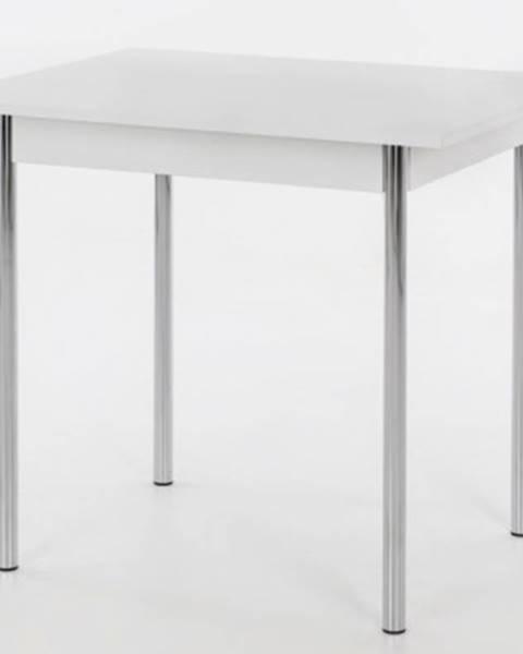 ASKO - NÁBYTOK Jedálenský stôl Köln I 90x65 cm, biely%
