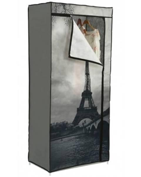 ASKO - NÁBYTOK Látková skriňa Eiffel%