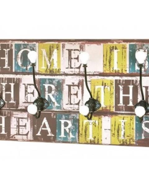 ASKO - NÁBYTOK Nástenný vešiakový panel Home Heart Medi 42947%