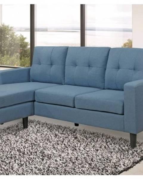 ASKO - NÁBYTOK Univerzálna sedacia súprava / pohovka Halmstad, modrá tkanina%