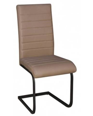 Jedálenská stolička Arden, cappuccino ekokoža%