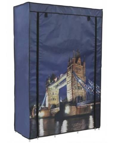 Látková skriňa Tower Bridge%