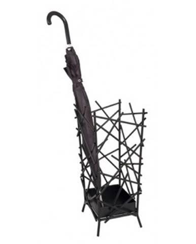 Stojan na dáždniky Mikido 26880, čierny%