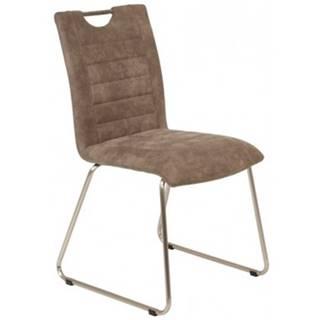 Jedálenská stolička Aruba 6, blatistá vintage látka%