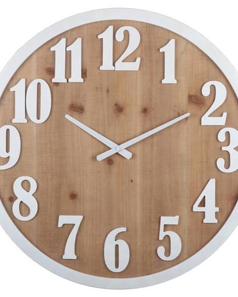 Möbelix Nástenné Hodiny Solid Wood, Ø: 60cm
