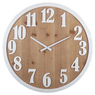 Nástenné Hodiny Solid Wood, Ø: 60cm