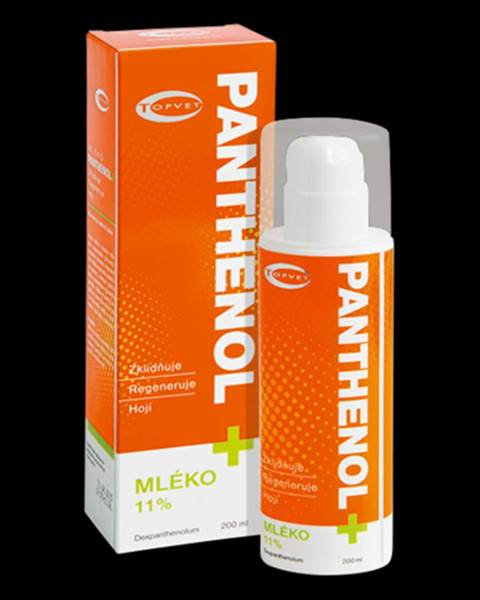 Topvet Topvet Panthenol mlieko 11 %, 200 ml