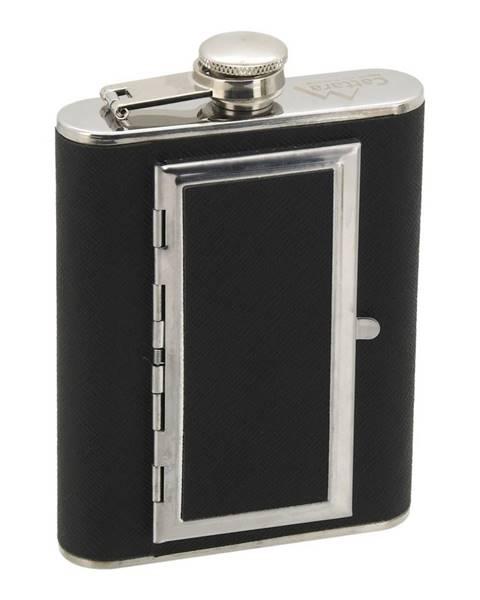 Cattara Cattara Fľaša ploskačka s puzdrom na cigary. 175 ml