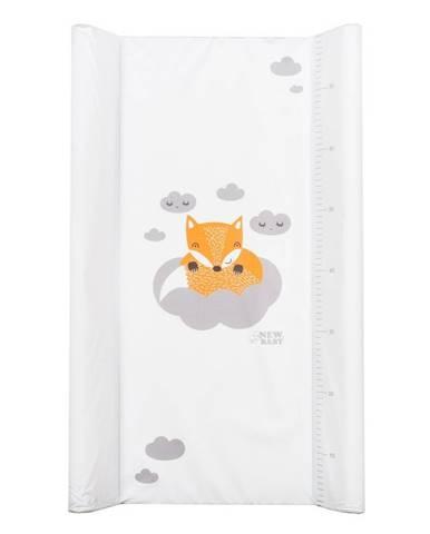 Prebaľovacia podložka New Baby Líška biela 80x50cm
