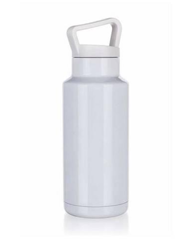 Banquet Fľaša športová dvojstenná MERIL 1 l, biela
