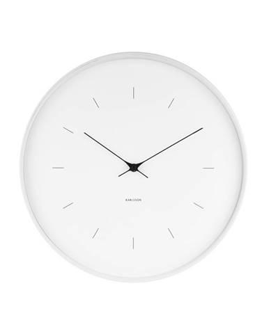 Karlsson KA5707WH 37cm nástenné hodiny