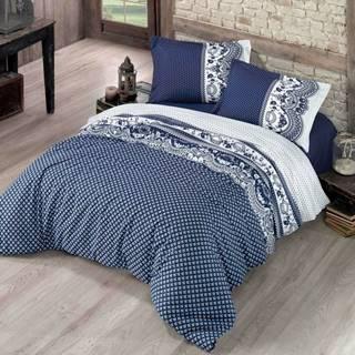 Kvalitex Bavlnené obliečky Canzone modrá