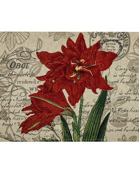 Bellatex Boma Trading Prestieranie Ľalia červená, 32 x 48 cm